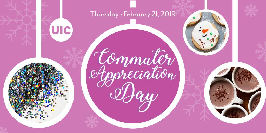 Commuter Appreciation Day - March 21