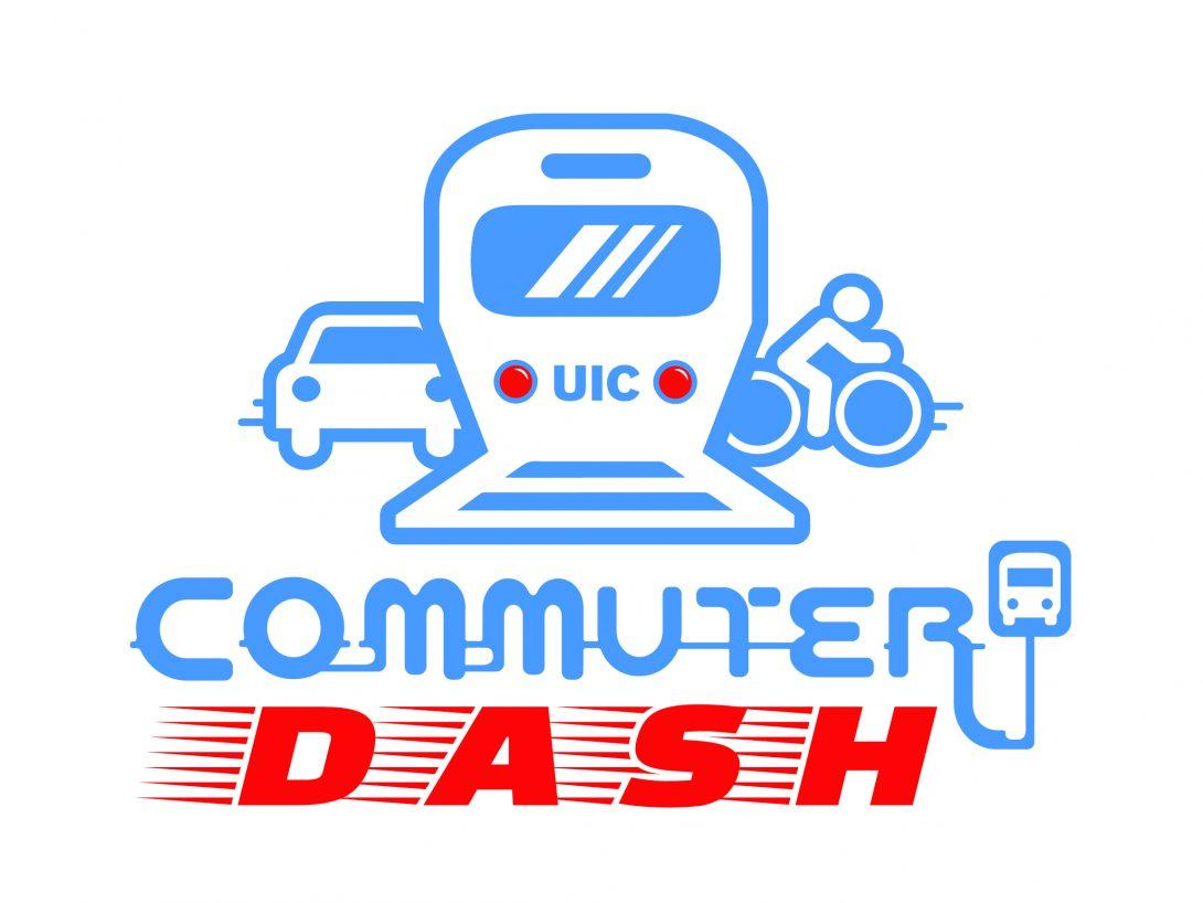 Graphic of Commuter Dash Logo